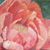 floral painting Mystique single peony oil painting by Navdeep Kular