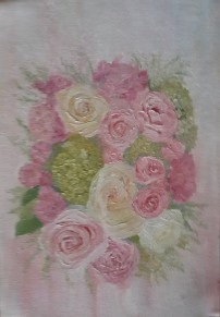 The Wedding Bouquet oil painting by Navdeep Kular