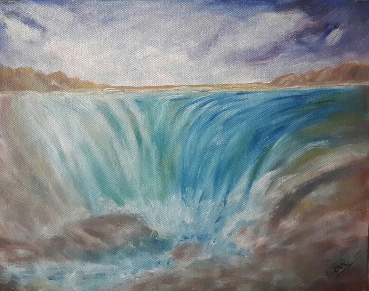The Waterfall (11H X 14W)