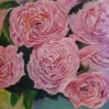 floral painting Pink Peonies oil painting by Navdeep Kular