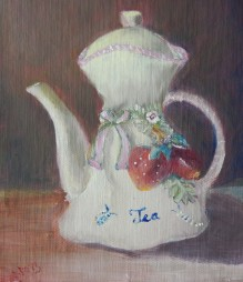 Strawberries Teapot